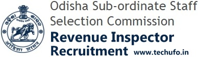 OSSSC Revenue Inspector Recruitment Notification Odisha RI Apply Online Application Form