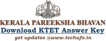 Kerala TET Answer Key Download PDF