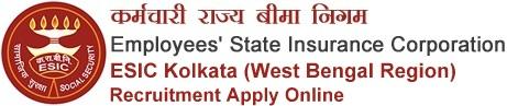 ESIC West Bengal Recruitment 2020 Notification Online Application Form