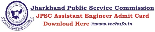 JPSC AE Admit Card Download Assistant Engineer Hall Ticket Call Letter