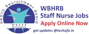 WBHRB Recruitment Notification Apply Online