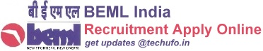 BEML Recruitment Notification