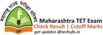 Maha TET Result Cutoff Marks List