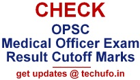 OPSC Medical Officer Result