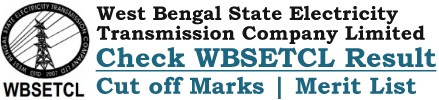 WBSETCL Result Cut off Marks Merit List Download