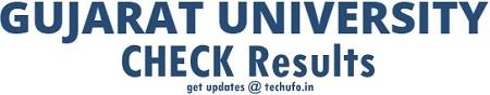 Gujarat University Online Results