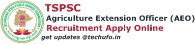 TSPSC AEO Recruitment Apply Online