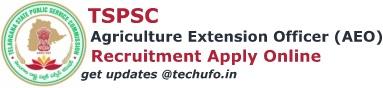 TSPSC AEO Recruitment Apply Online