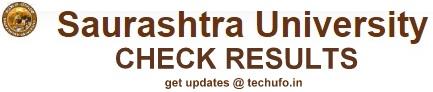 Saurashtra University Semester Exam Results