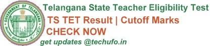 Telangana TET Result Cutoff Marks