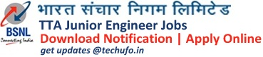 BSNL JE Recruitment Notification