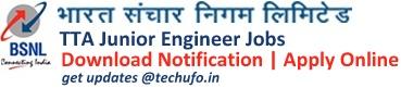 BSNL JE Recruitment Notification