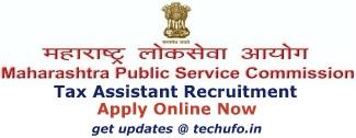 MPSC Tax Assistant Recruitment Notification