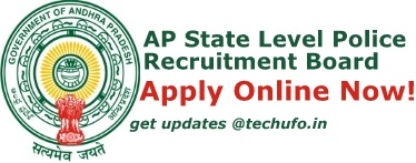 AP SLPRB Recruitment Notification AP Police Constable Warder Fireman Jobs Online Application Form Apply