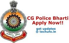 CG Police Bharti
