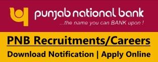 Punjab National Bank Recruitment PNB Notification