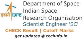 ISRO Result Cutoff Marks