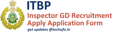 ITBP Recruitment Notification Application