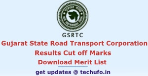 GSRTC Results 2016 2017