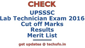 UPSSSC Lab Technician Results