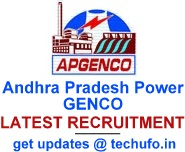 APGENCO Recruitment 2018