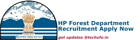 HP Forest Department Recruitment Details