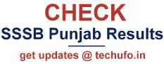 Punjab SSSB Exam Results