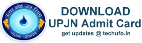 UPJN Admti Card Download