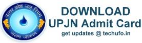 UPJN Admti Card Download
