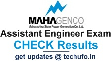 MAHAGENCO Assistant Engineer Result Cut off Marks 2017