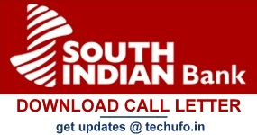 SIB Exam Call Letter Download