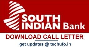 SIB Exam Call Letter Download