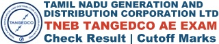 TNEB TANGEDCO AE Result Cut off Marks Merit List Download PDF