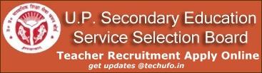UP TGT PGT Teacher Recruitment UPSESSB Notification Online Application Form