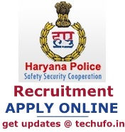 Haryana police vacancy