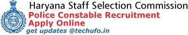 Haryana SSC Police Recruitment