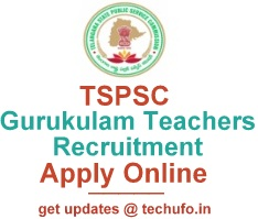 TSPSC Gurukulam Teachers Notification