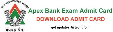 Apex Bank Exam Admit Card