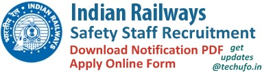 Rail Safety Staff Recruitment Notification