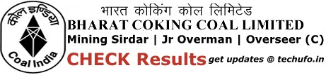 BCCL Exam Results