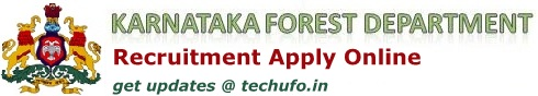 Karnataka Forest Recruitment