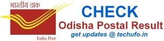 Odisha Postal Result