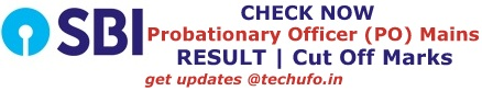 SBI PO Main Exam Results