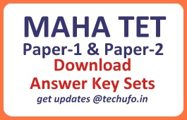 MAHA TET Answer Key