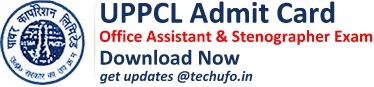 UPPCL Exam Admit Card Download Dates
