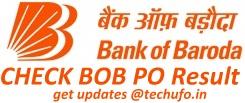 BOB PO Result Cutoff Marks