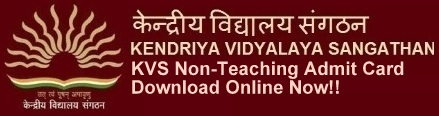 KVS Admit Card Call Letter