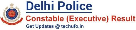 Delhi Police Result SSC DP Constable Merit List Cutoff Marks