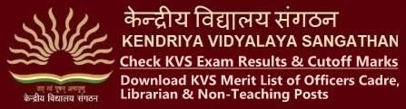 KVS LDC UDC Steno Librarian Result Cutoff Marks