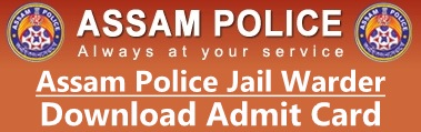 Assam Police Admit Card Hall Ticket